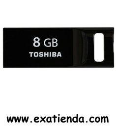 Ya disponible Memoria USB 2.0 Toshiba 8gb negra   (por sólo 12.95 € IVA incluído):   -Capacidad: 8GB -Interface: USB 2.0 -Velocidad lectura: 17MB/s -Velocidad escritura: 7 MB/s -Otros:- -Color: Negro  -P/N:THNU08SIPBLACK(BL5   Garantía de 24 meses.  http://www.exabyteinformatica.com/tienda/1324-memoria-usb-2-0-toshiba-8gb-negra #memoria #exabyteinformatica