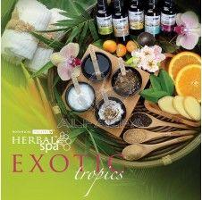 Botanical Escapes Herbal Spa Pedicure - Exotic Tropics Kit