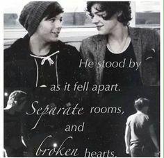1D One Direction - Kiss Me Slowly lyrics by Parachute - Harry Styles & Louis Tomlinson - HaLo Larry edit    It's so sad ..