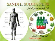 Sandhi sudha remove many type of pain such as body pain, knee pain, shoulder pain and joint pain.