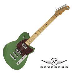 Reverend Flatroc Electric Guitar - Emerald Green
