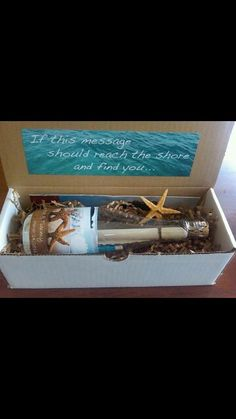 Message in a bottle invite