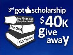 scholarship with no essay