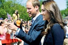 Duke & Duchess of Cambridge in northern Alberta, Canada during Royal Tour. July 6, 2011.