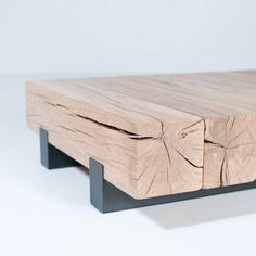 Mesa diseñadas con vigas de madera, muy faciles de fabricar y se adaptan a cualquier decoración. Imagenes recopiladas de pinterest.