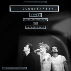 Counterfeit- I know he's pretty but don't let it fool you- the music really is quite good