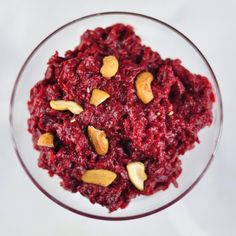 Beetroot halwa is a delicious and healthy sweet with beetroot, milk, ghee, and honey. Beetroot halwa tastes similar to the carrot halwa.  Halwa Recipes: There are varieties of halwa recipes like carrot halwa, bread halwa, moong halwa, sooji halwa and wheat flour halwa. All the halwa recipes are much more similar to one another but with... Read More »
