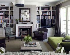 """Dream Home: Bryn Alexandra,"" via ""La Dolce Vita"" -- Source: House Beautiful"