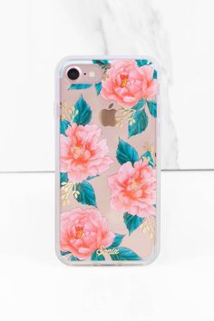 """Shop the """"Sonix Cases Sonix Ballie Pink Floral Print I Phone 7 Case"""" on Tobi.com now! This floral print iPhone 7 case is eye-catching and perfect for the season! We're in love.. are you?"""