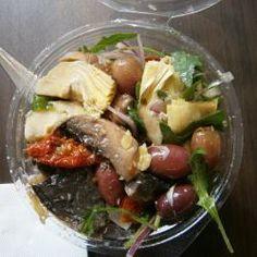 Portobello Mushroom and Rocket Salad