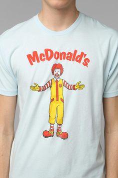 Ronald McDonald Tee #urbanoutfitters