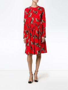 Dolce & Gabbana Bengal cat print dress