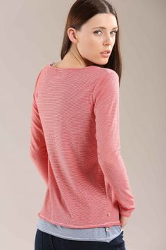 Stripe sweater Spring Summer 2015, Turtle Neck, Pullover, Sweaters, Fashion, Fashion Styles, Tops, Moda, Sweater