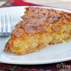 French Coconut Pie @keyingredient #pie