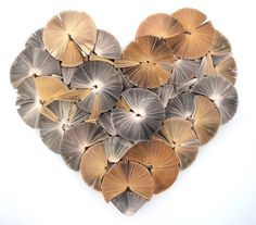 Heart Artwork made from books by kerimuller on Etsy, $230.00