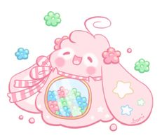 Commission: Chubby for Xxebonysongxx by Sarilain on DeviantArt Cute Animal Drawings Kawaii, Cute Cartoon Drawings, Kawaii Art, Cute Fantasy Creatures, Cute Pokemon Wallpaper, Cute Chibi, Art Challenge, Illustrations, Cute Art