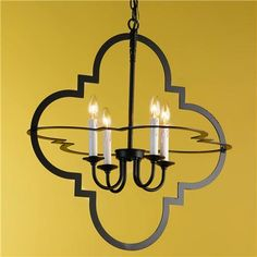 Wow!  This would look great in our formal living room!  We have two quatrefoil mirrors in there.
