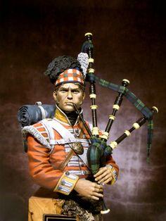 92nd Gordon Highlanders.  Gallery Busti ~ IL BLOG DI RICKY67