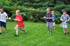 Roaring Relays - VBS or Sunday School game ideas
