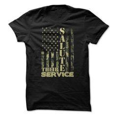 Salute their service T-Shirt Hoodie Sweatshirts eai. Check price ==► http://graphictshirts.xyz/?p=47693