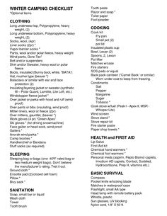 279 best camping checklists images on pinterest camping ideas