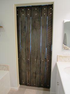 Charming Barn+door+from+the+inside | Inside Bathroom Barn Door   Modern