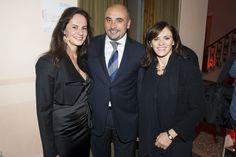 A beautiful Silvia Franco with friends.