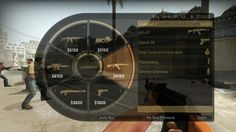 Counter Strike:GO radial menu