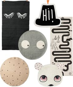 6 Fabulous Rugs for a Kids Room http://petitandsmall.com/6-fabulous-rugs-kids-room/