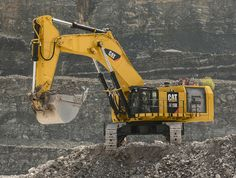 New #Cat® 6015B Hydraulic #Shovel Moves More Material at Lower Costs | Rock…