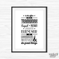 Teamwork Quotes For Office In This Office Quote Inspirational Office Wall  Art Motivational Wall Deco Office