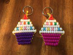 pony bead cupcakes