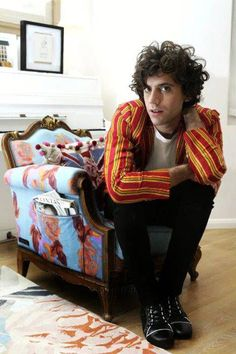 Mika photographed in his former home -  Frantzesco Kangaris photoshoot for The Independent 2009