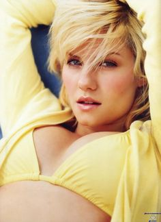 Elisha Cuthbert in her Yellow ... is listed (or ranked) 4 on the list The Hottest Elisha Cuthbert Bikini Pictures