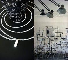 Vosgesparis: Life in Monochrome {A danish artist studio}
