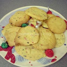 Momma Lew: Cake Batter Christmas Cookies
