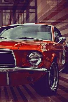 Mustang Cars Speed HotRod. Cool