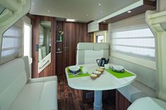 The 2015 4 berth Como automatic motorhome has an amazing low profile body, which makes it compact and easy to drive , but spacious and comfortable inside.