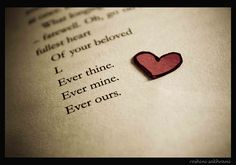 Ever thine. Ever mine. Ever ours. Beethoven's final letter to his beloved.