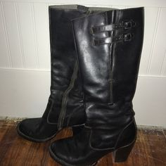 28f2dc4bbd04 Shop Women s Born Black size Heeled Boots at a discounted price at  Poshmark. Super comfy