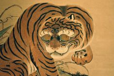 Japanese Tiger | Tattoo Ideas & Inspiration - Japanese Art | #Japanese #Art #Tiger #Animals