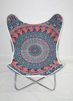 Butterfly Folding Chair, Butterfly Metal Chair, Outdoor Strong Chair #Handmade #Modern
