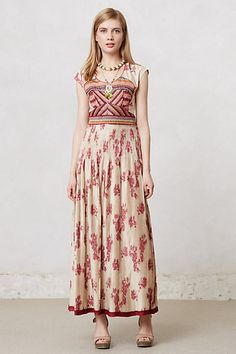 Pleated Chennai Maxi Dress #anthropologie