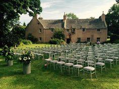 Ready for a garden wedding ceremony at Aswanley. Civil Ceremony, Wedding Ceremony, Wedding Venues, Barn Renovation, Rustic Wedding Inspiration, Garden Wedding, Dolores Park, Wedding Decorations, Summer Weddings