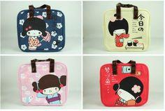 Japanese Geisha Girl Handbag Lunch Tote   eBay