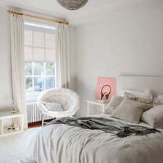 Tonal grey bedroom | Bedroom decorating | Livingetc | Housetohome.co.uk