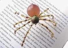 Splendid Beaded Christmas Spider Ornament