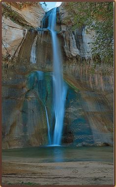 Calf Creek Falls in Grand Staircase National Monument