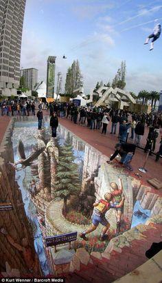 3D Street Art by Kurt Wenner | Read More Info