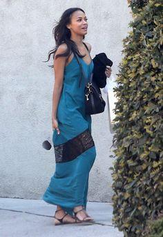 Scrumptious and Sexy Zoe Saldana ...Snazzy Styles...